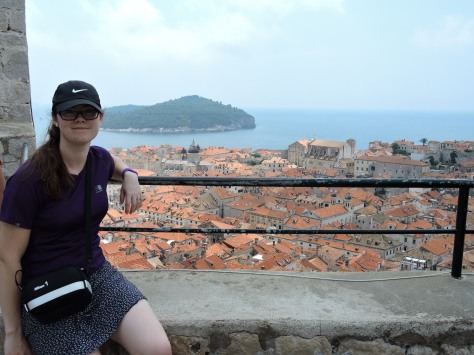 Old Dubrovnik, from a watchtower on the walls