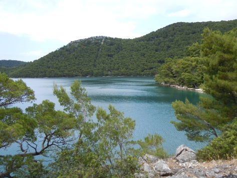 Mljet. It was so much brighter and bluer than this.
