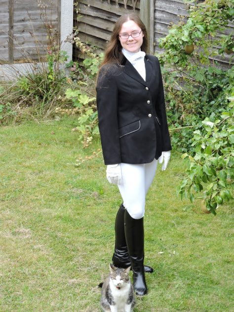 Twcrosse, Shepworth & show clothes 164