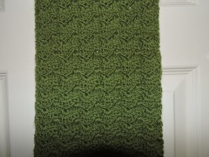 Woolly scarf for my mother-in-law