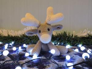 A reindeer...