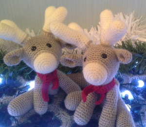 ... and a second reindeer for Mr S who wanted one for us to keep